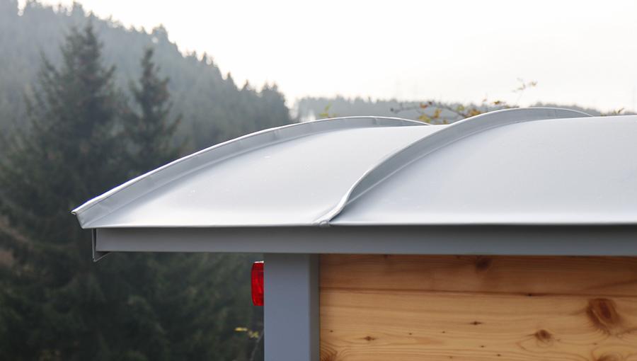 Aluminium oder Titanzinkdach