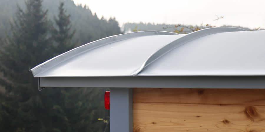 Graues Dach