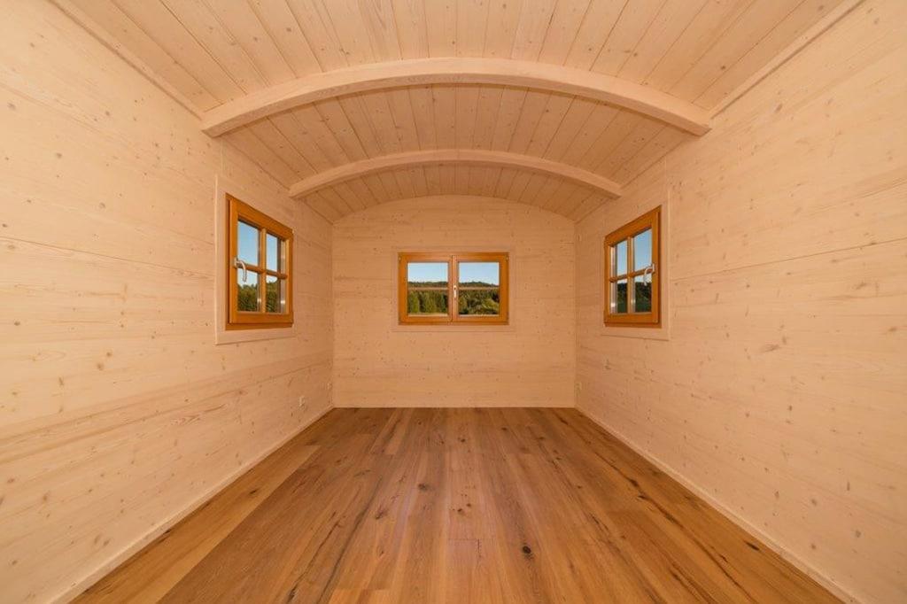 Innenraum für einen Dauercamper