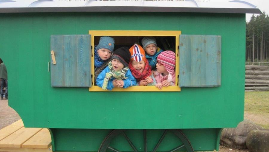 Schäferwagen für den Spielplatz