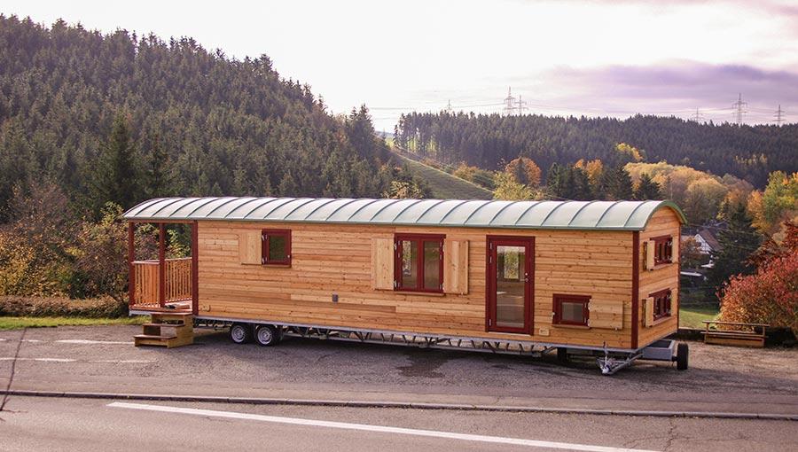 12 Meter langer Waldkindergartenwagen