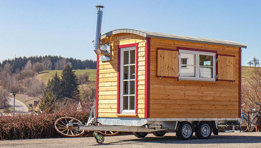 Tinyhouse Holzhaus