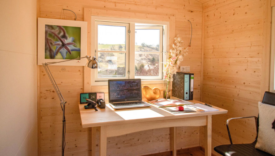 Tiny House mit Büro