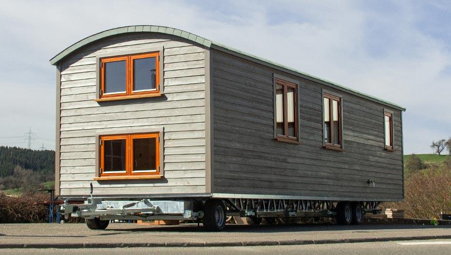 Tiny House mit Aludach